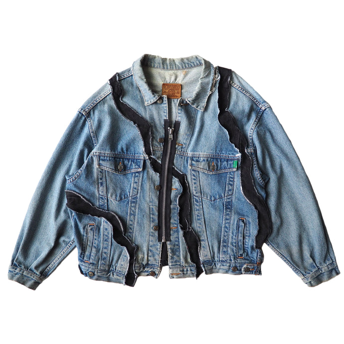 WAVY DENIM JACKET