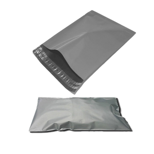 "500 x Grey Mailing Bags (12"" x 16"")"
