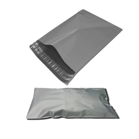 "500 x Grey Mailing Bags (6"" x 9"")"