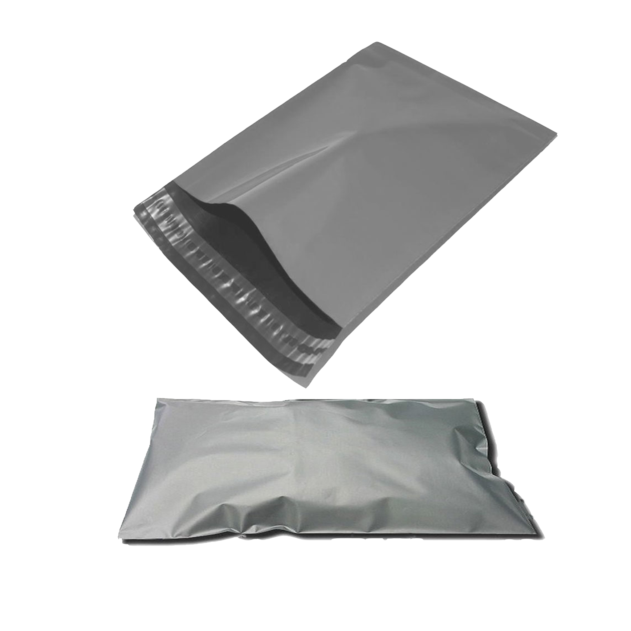 1000 x Grey Mailing Bags (21