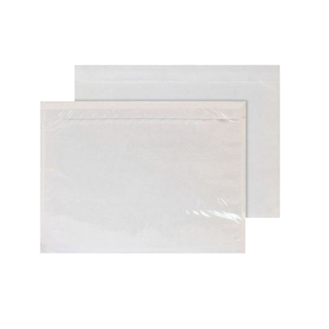 1000 x Document Enclosed Wallets - Plain (A6)
