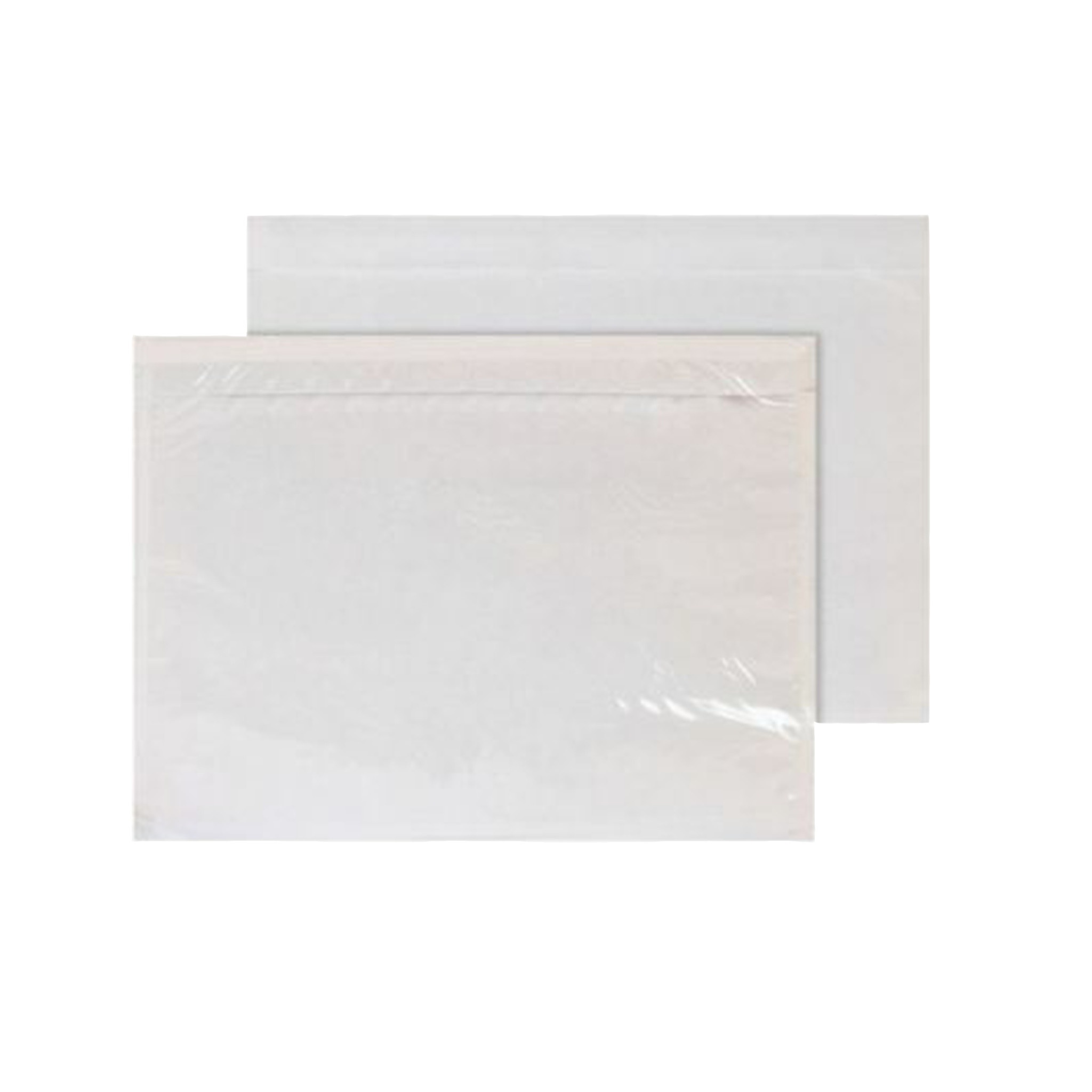 2000 x A5 Plain Clear Document Enclosed Wallets