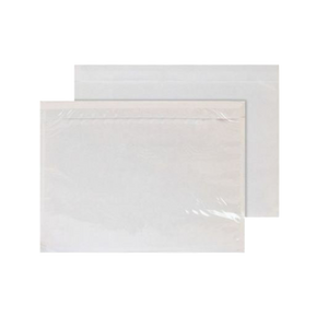 5000 x Document Enclosed Wallets - Plain (A6)