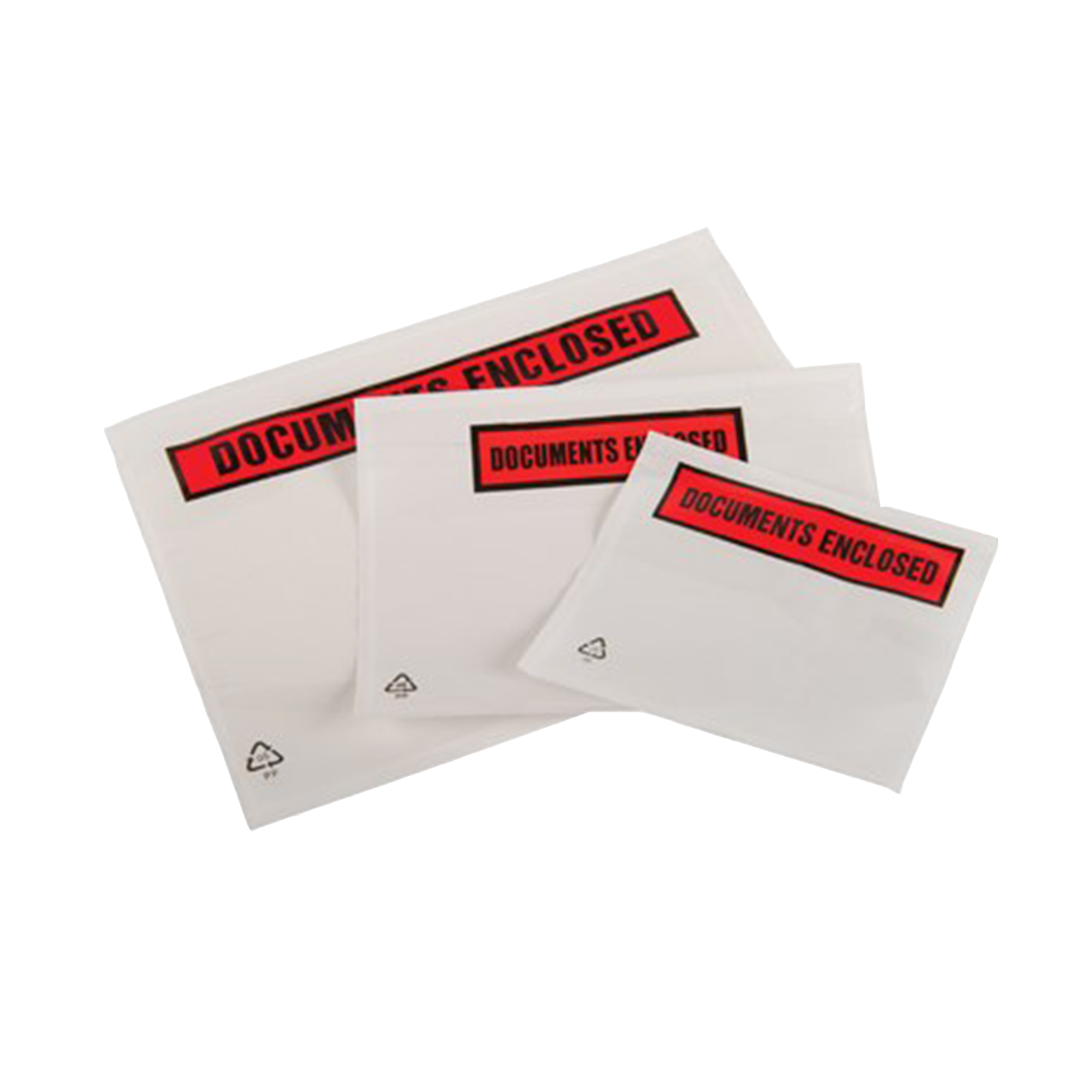 500 x Document Enclosed Wallets - Printed (A4)