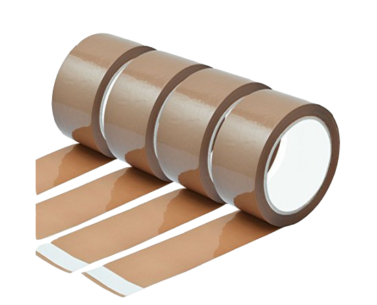 18 Rolls x Brown (Buff) Tape