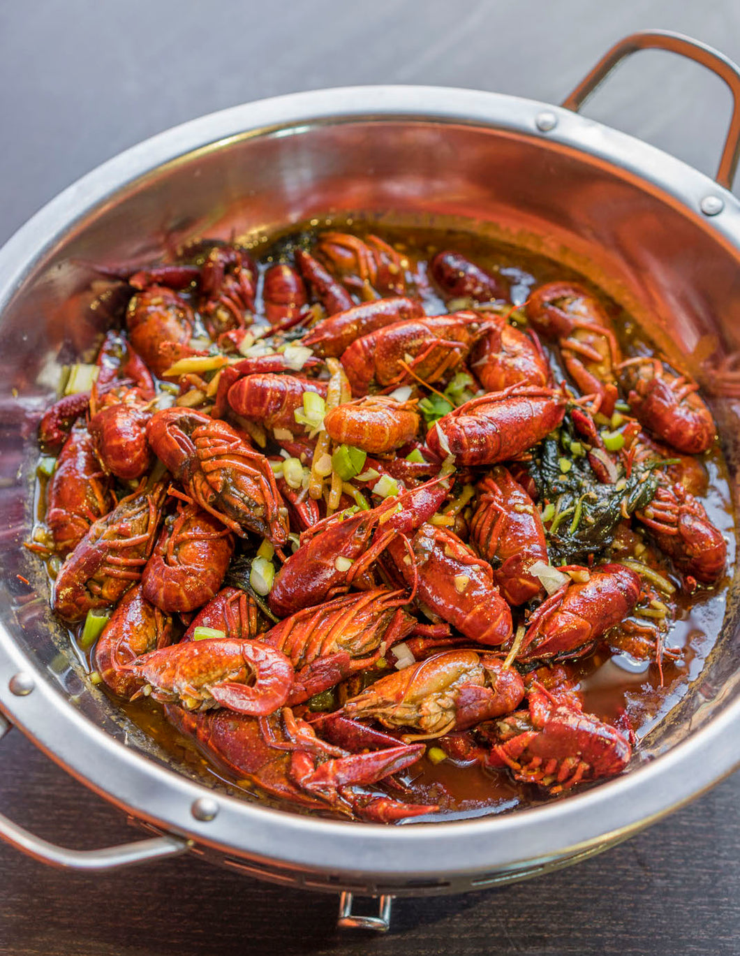Hot and Spicy Crawfish 麻辣小龙虾