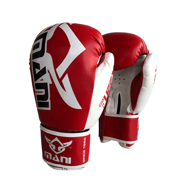 TuffX Boxing Gloves Red White