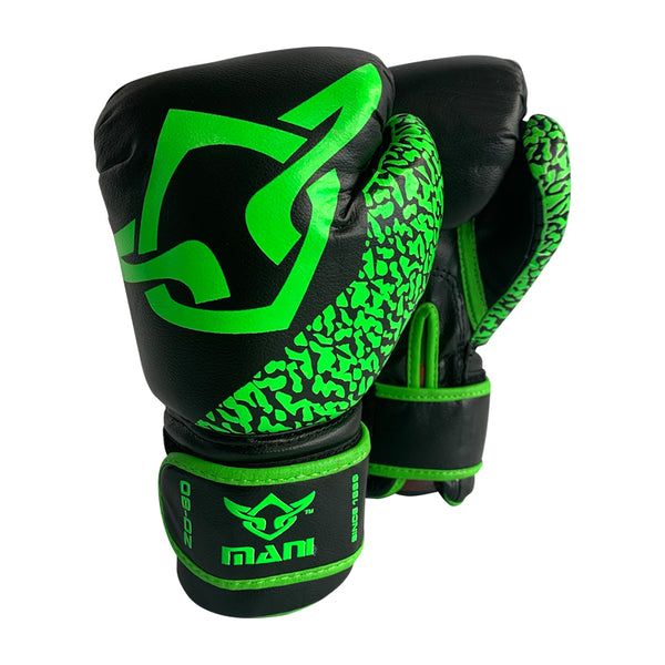 Kids Boxing Gloves Green - Mani Sports®