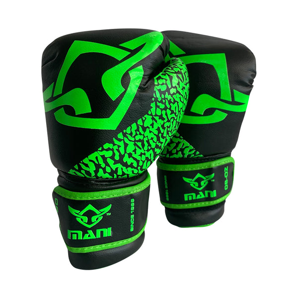 Kids Boxing Gloves Green