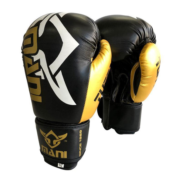 TuffX Boxing Gloves Gold