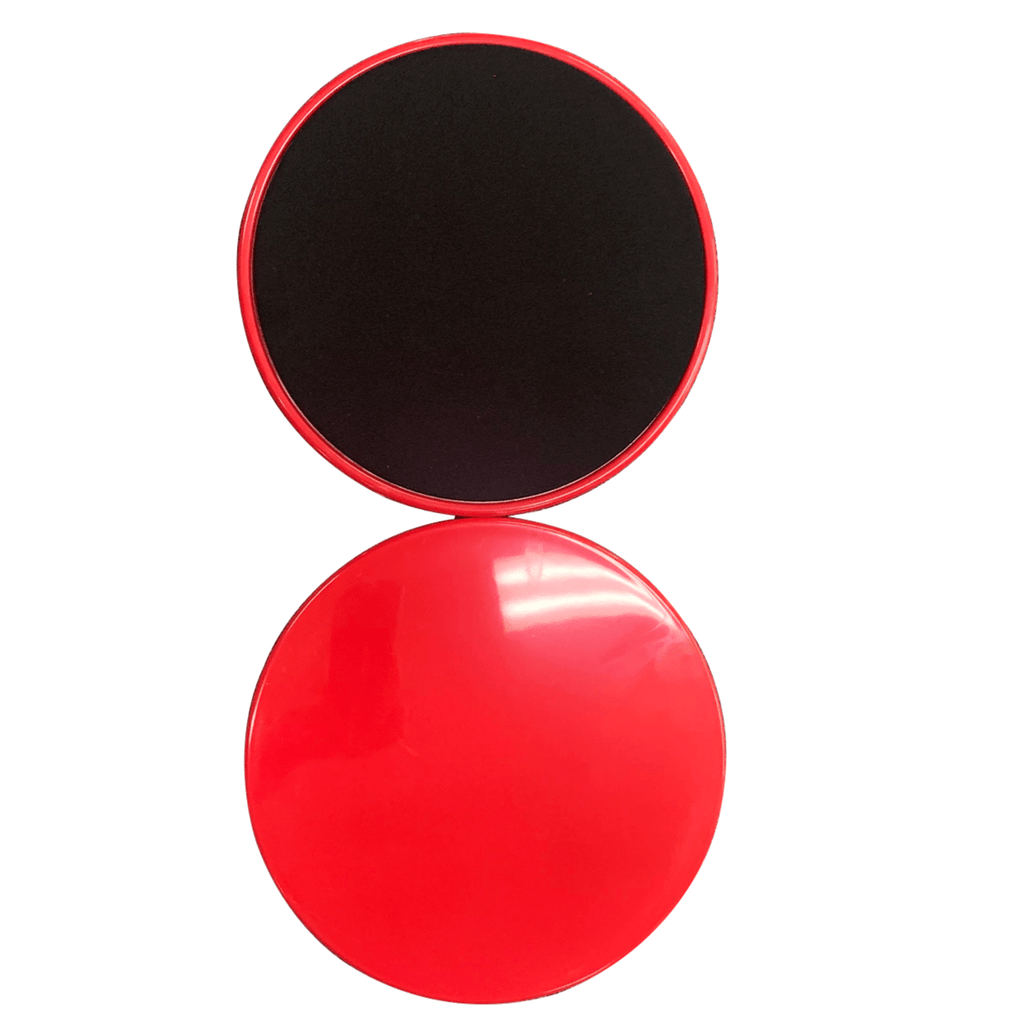 Fitness Sliding/Gliding Discs Red