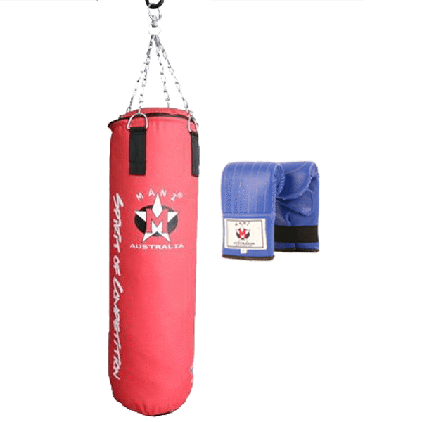 4ft Punching Bag & Punching Mitts Set - Mani Sports®