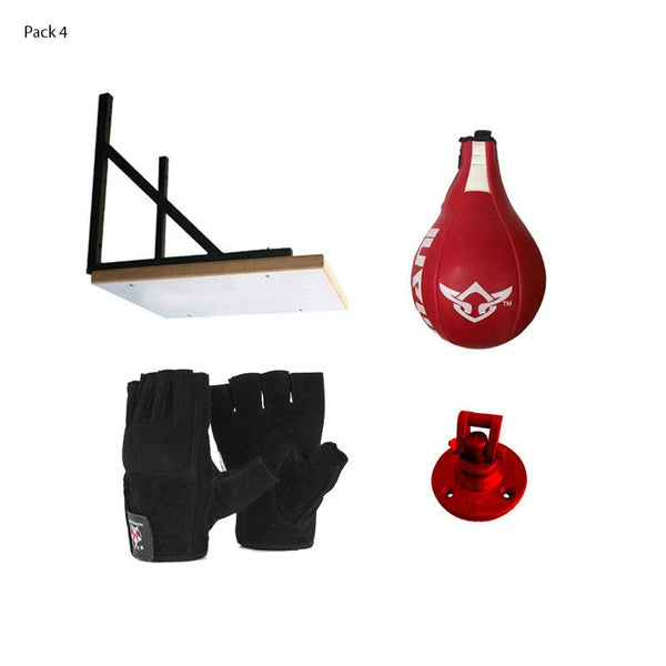 Speedball Frame with Speed ball and Gloves Bundle