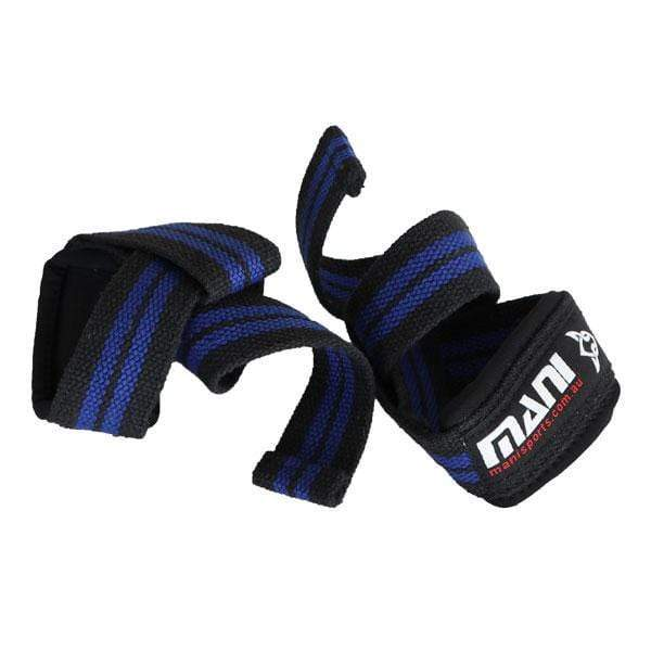50mm Weightlifting Straps with Neoprene - Mani Sports®