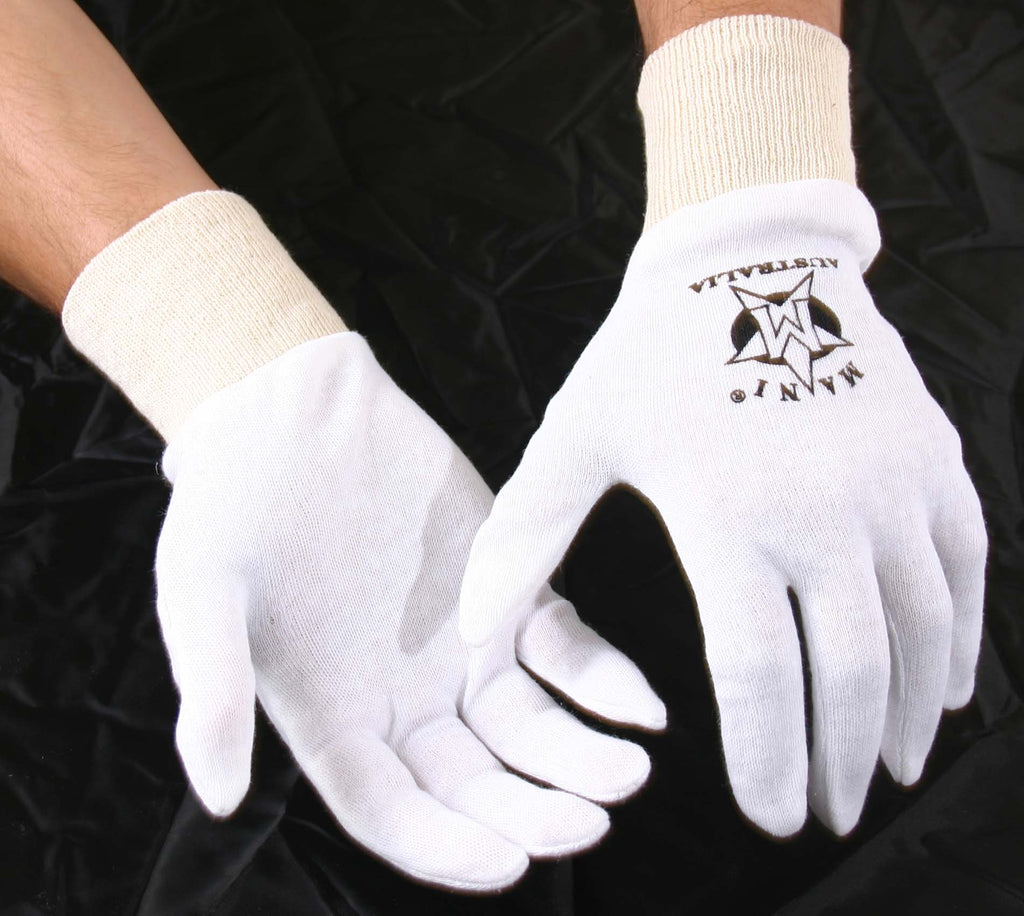 BOXING PUNCH GLOVES- COTTON INNERS, Liners, 1 Pairs Cricket inner, Cotton Insert - Mani Sports®