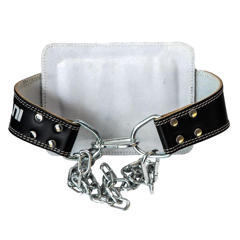 Leather Dipping Belt With Chain - Mani Sports®