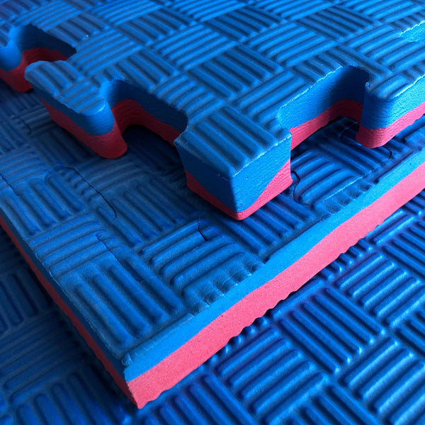Jigsaw Mats 30mm Red/Blue Reversable - Mani Sports®