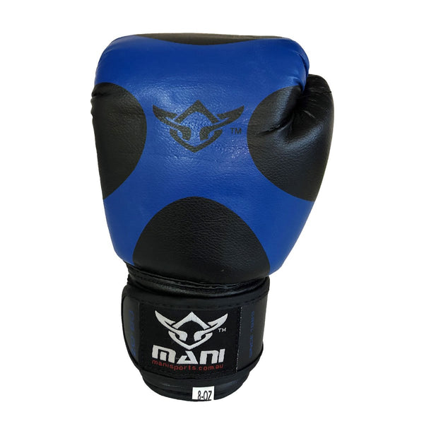 Kids Boxing Gloves Blue - Mani Sports®