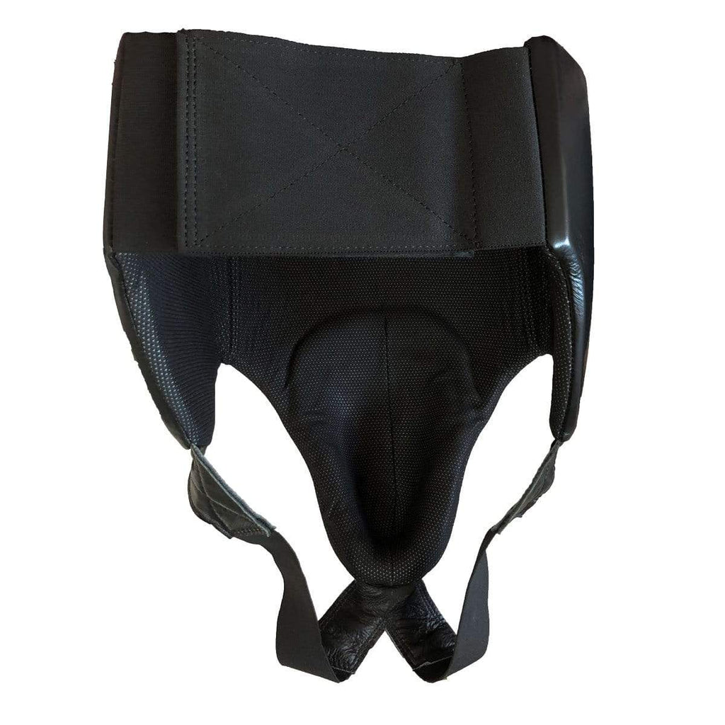 Male Leather Abdominal Groin Guard - Mani Sports®