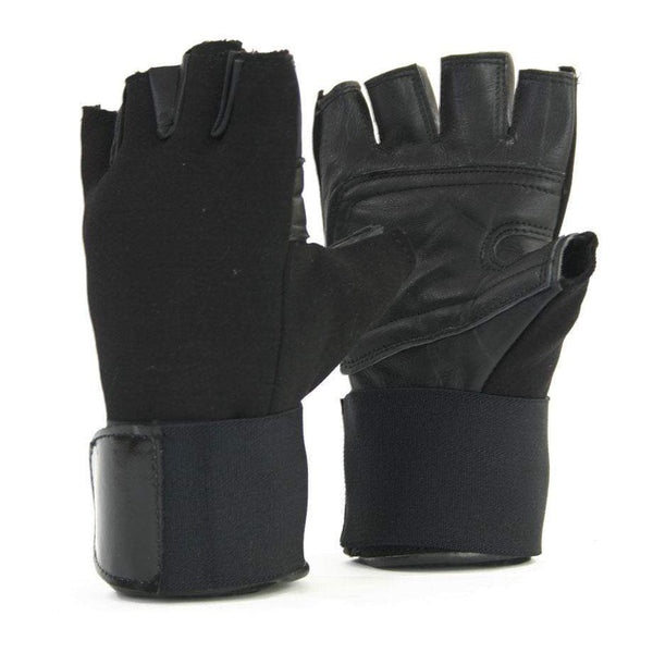 Nylon Wrist Wrap Training Gloves - Mani Sports®