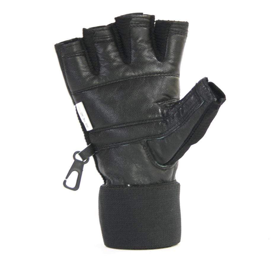 Deluxe Leather Muscle Power Gloves - Mani Sports®