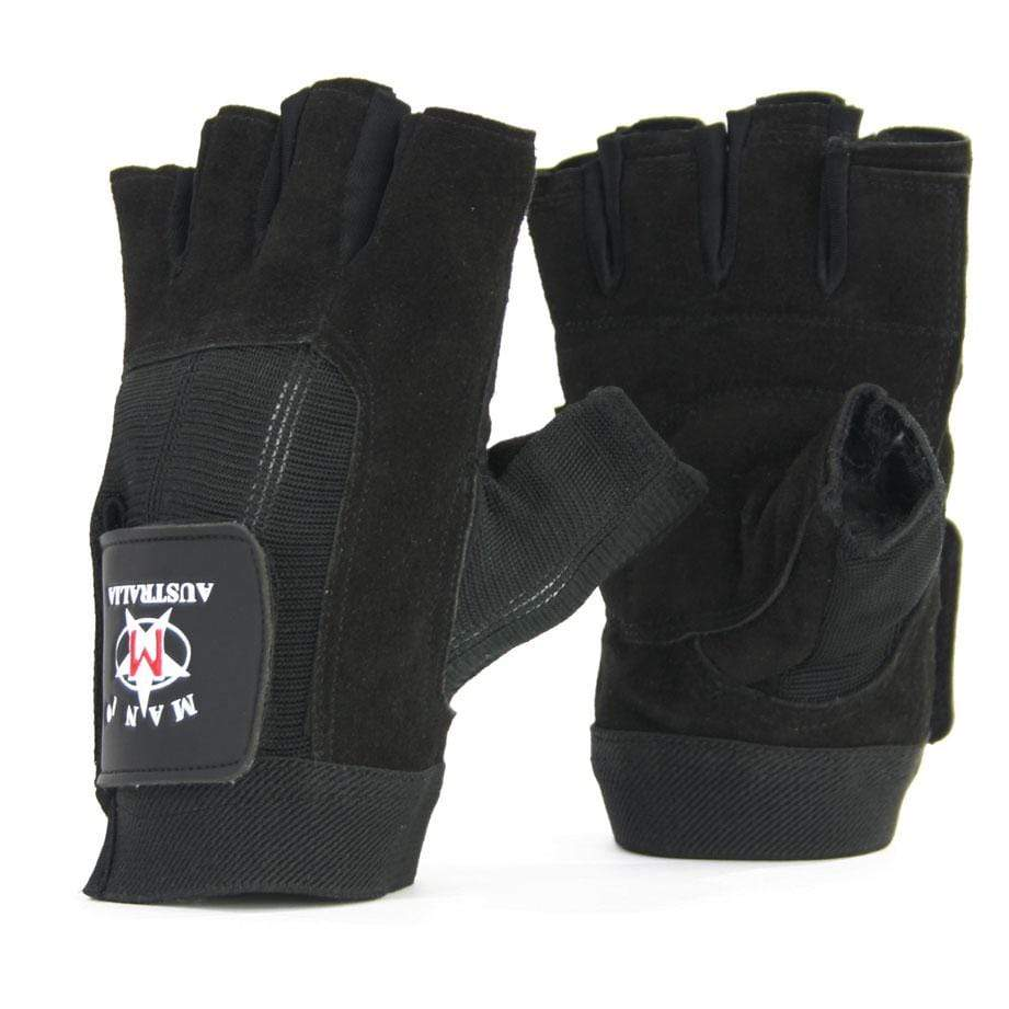 Leather Suede Trainer Gloves - Mani Sports ®