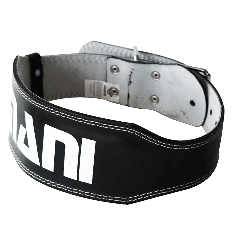 Leather 4 Inch Weight Training Belt - Mani Sports®