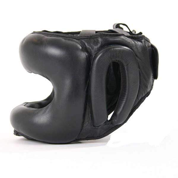 Leather Metal Frame Head Guard - Mani Sports ®