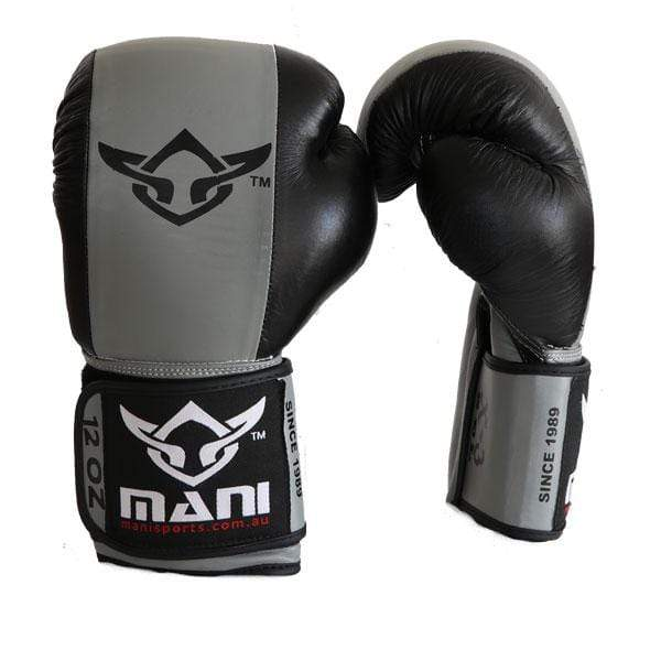 Leather Gel Professional Boxing Glove - Mani Sports®
