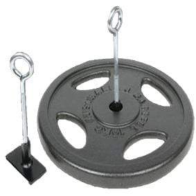 Hook with Disc Weight plate (with out weight plate) - Mani Sports®
