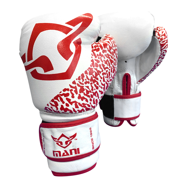 Kids Boxing Gloves Red and White