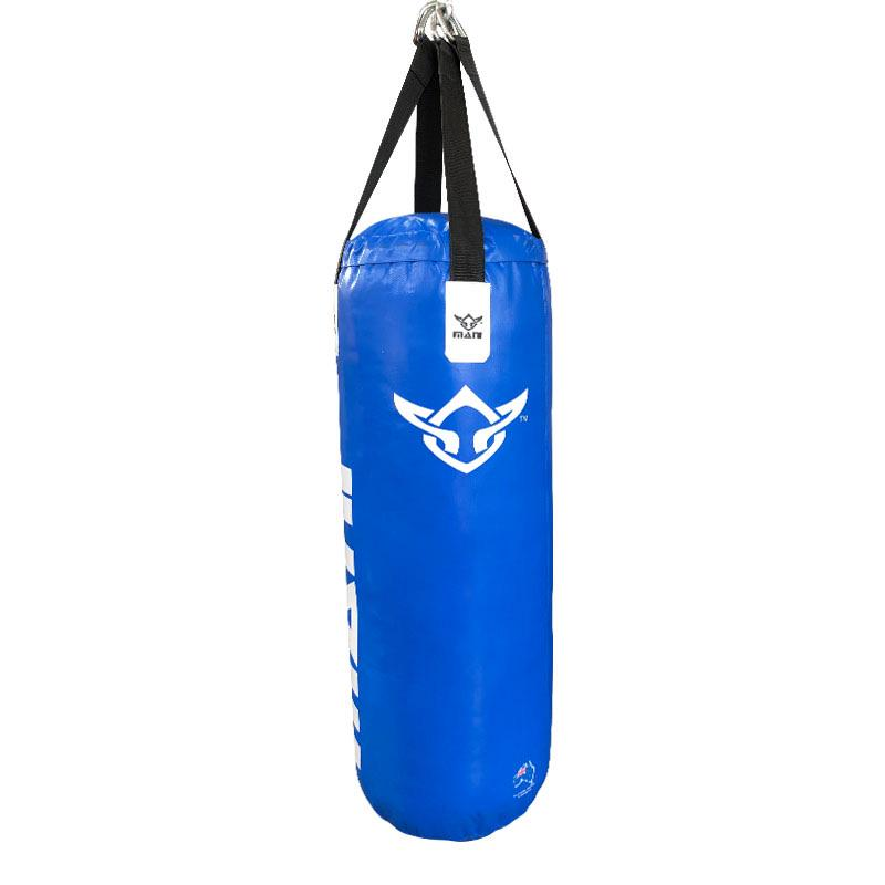 Punching Bags 3ft - Filled Deluxe Heavy in Blue - Mani Sports®