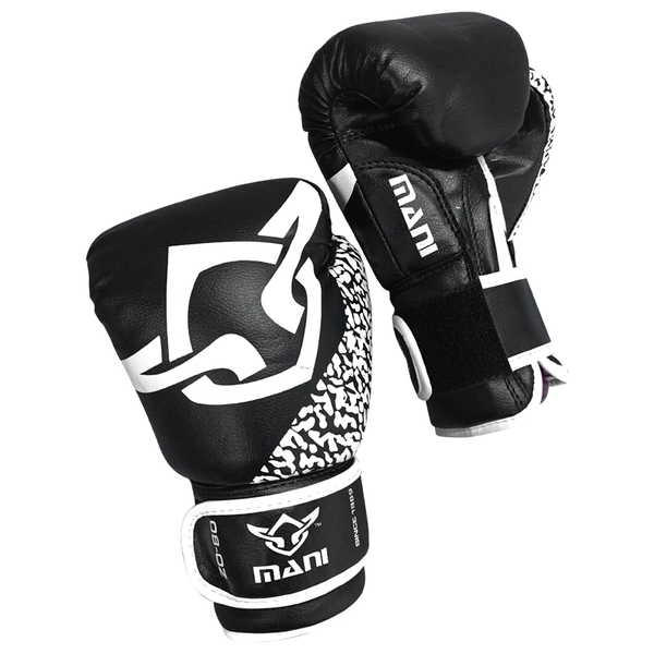 Kids Boxing Gloves Black & White