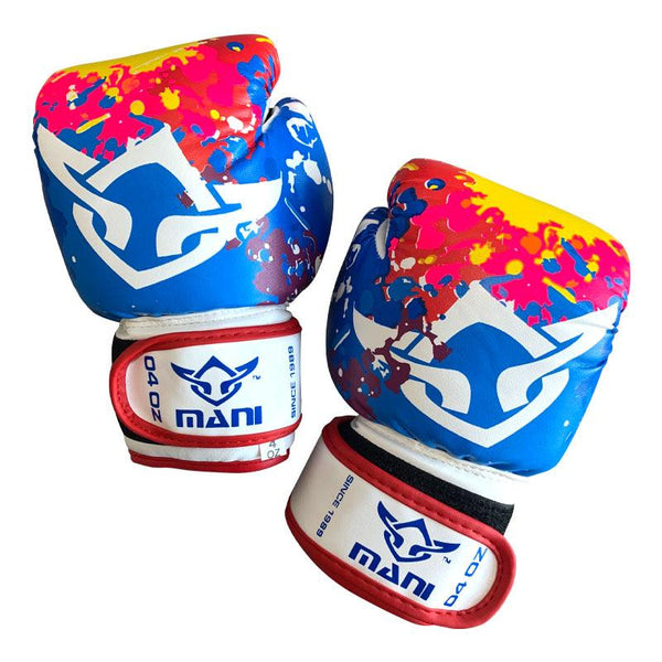 Kids Boxing Gloves Multi-Colour - Mani Sports®