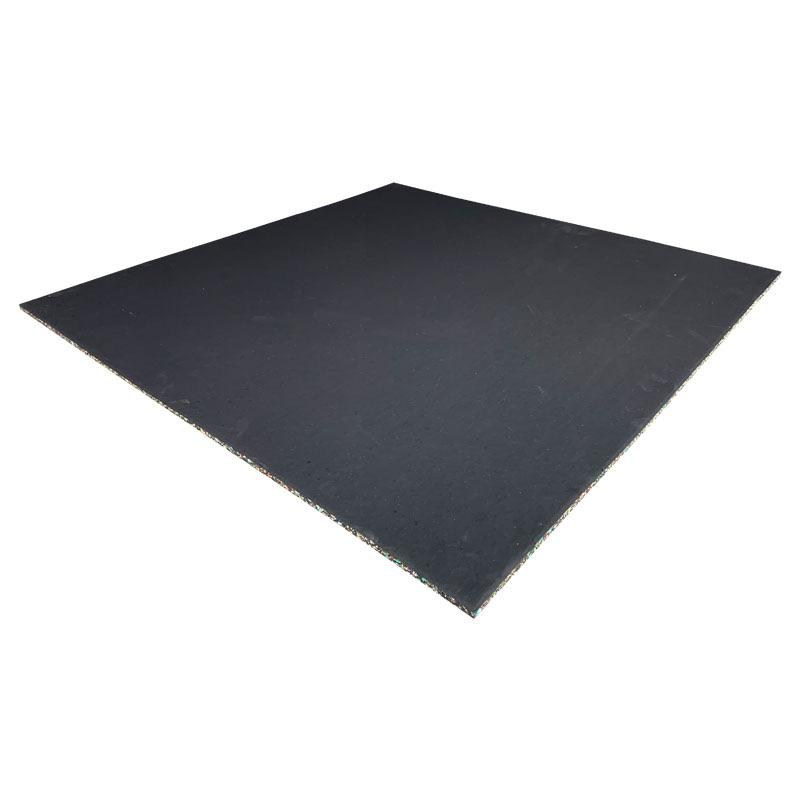 Premium Rubber EPDM Commercial Gym Floor Tiles 15mm - Mani Sports®