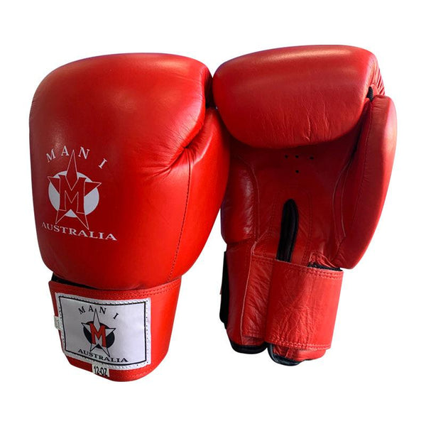 Leather Box Gloves - Mani Sports®