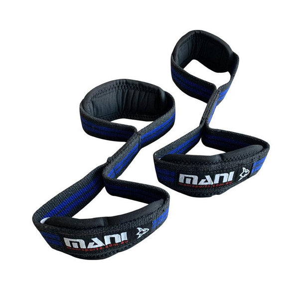 Figure 8 Loop Lifting Straps with neoprene Padded | Weight Lifting Straps - Mani Sports®