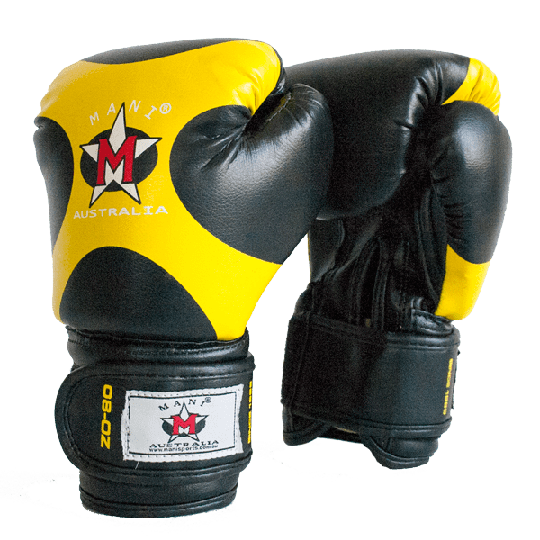 Kids Boxing Gloves Yellow - Mani Sports ®