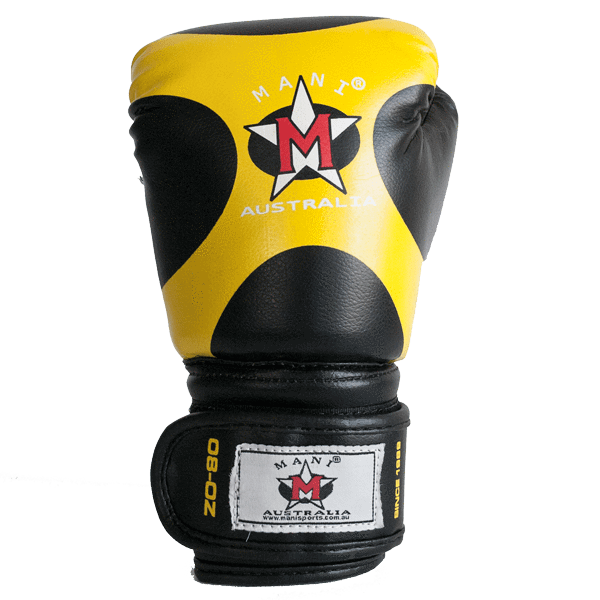 Kids Boxing Gloves Yellow - Mani Sports®