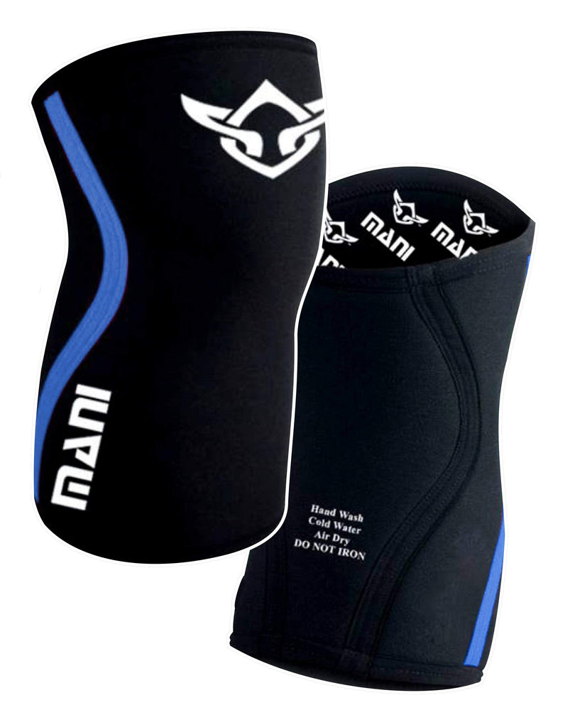 Knee / Elbow Sleeves Blue - Mani Sports®