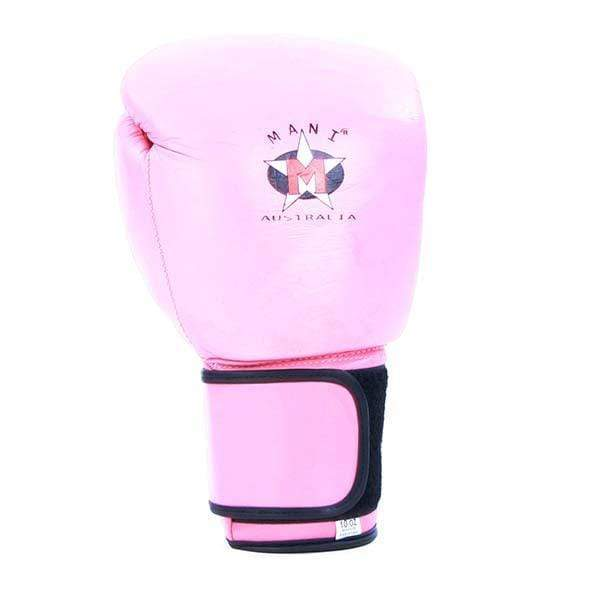 Ladies Pink Leather Boxing Gloves - Mani Sports ®