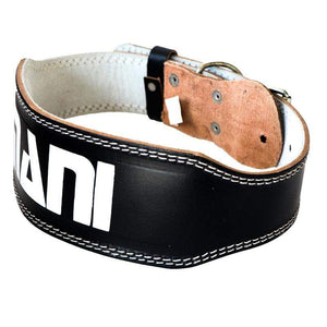 "Leather 4"" Weight Training Belt - Mani Sports®"