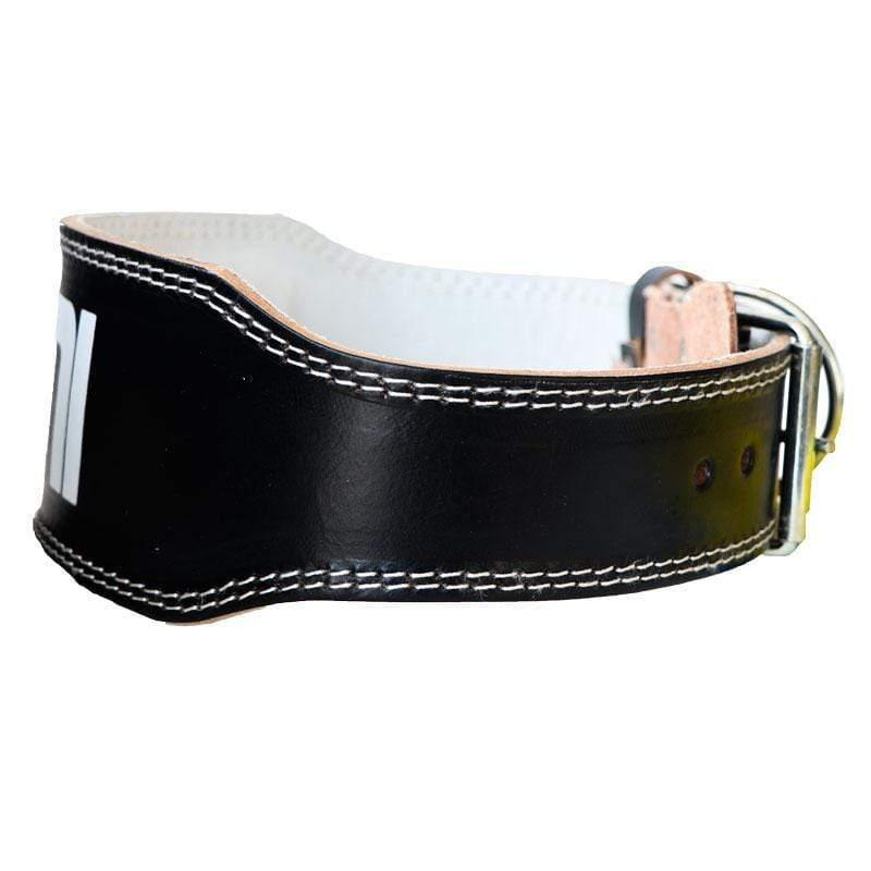 "Leather 4"" Weight Training Belt - Mani Sports ®"