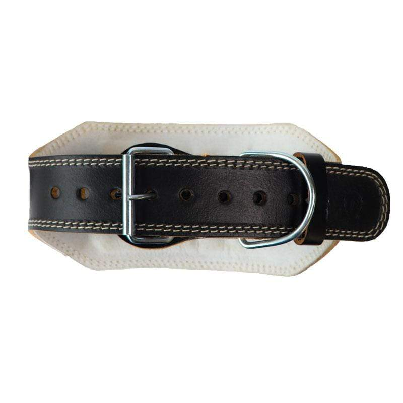 "Leather 6"" Weight Training Belt - Mani Sports®"