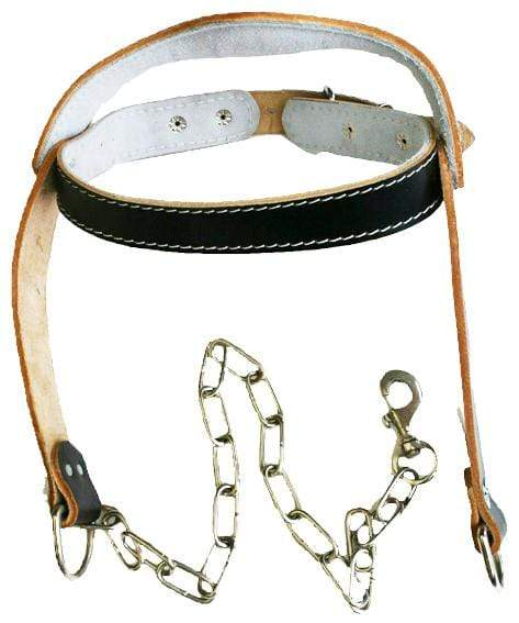 Leather Head Harness for Neck Strengthening - Mani Sports®