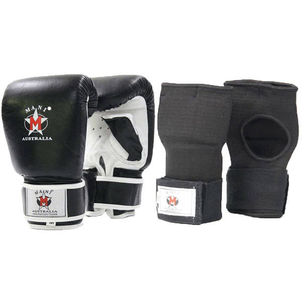 Leather Mitt & quick wraps - Mani Sports ®