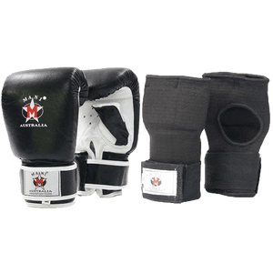 Leather Mitt & quick wraps - Mani Sports®