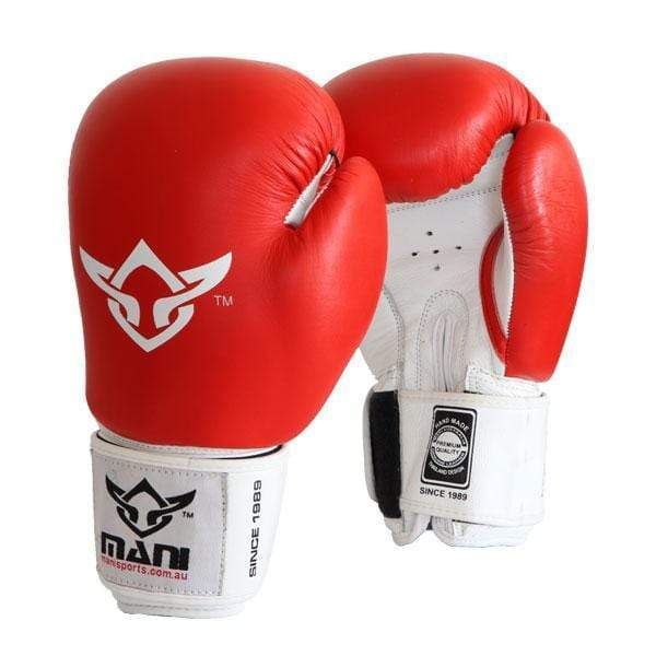 Leather Pro-Sparring Boxing Gloves - Mani Sports®