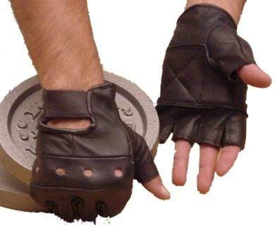 Leather Weight Training Gloves - Mani Sports ®