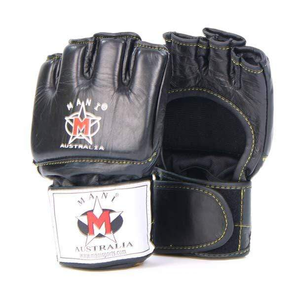 MMA Leather Grappling Gloves - Mani Sports®